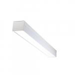 30W 4-ft LED Utility Light Fixture, 120-277V, 3330 lm, 3500K