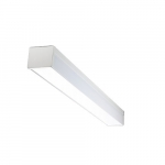 30W 4-ft LED Utility Light Fixture, 120-277V, 3390 lm, 4000K