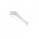 30W 4-ft LED Utility Light Fixture w/ Motion Sensor, 120-277V, 3450 lm, 5000K