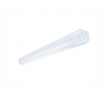 36W LED Utility Light Fixture, Dimmable, 4176 lm, 3000K