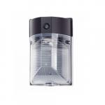 17W LED Wall Pack, Semi Cut Off, 120-277 Volt, 1800 lumens, 3000K