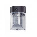 17W LED Wall Pack, Semi Cut Off, 120-277 Volt, 1900 lumens, 4000K