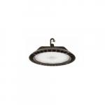 Wattage Adjustable LED UFO High Bay, 0-10V Dim, 60 Degrees, 29000 lm, 5000K, Bronze