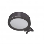 40W Color Preference Outdoor Area Light, Bronze, 5000K