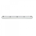 56W 4' Vapor Tight fixture, 7000 Lumen Output, 0-10V Dimmable, 4000K