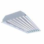 4ft LED High Bay Fixture Body, 6-Lamp, Single-End Compatible