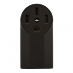 50 Amp NEMA 14-50R 125V/250V Range and Dryer Flush Power Receptacle