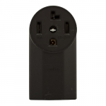 30 Amp NEMA 14-30R 125V/250V Range and Dryer Flush Power Receptacle