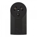 30 Amp NEMA 10-30R 125V/250V Range and Dryer Surface Power Receptacle
