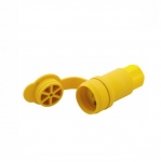 20 Amp Watertight Connector, Yellow