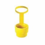 Closure Cap for 20 Amp Watertight Plug, Yellow