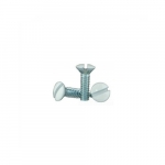 Screws for Toggle & Receptacle Wallplates, 1/2-in, Ivory