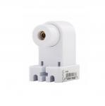 660W Fluorescent Lamp Holder, Slimline, White