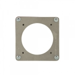 Cover of Receptacle Box for Power Lock Aluminum Plates