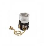 660W Lamp Holder, Pull Chain, Medium Base