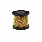 Pull Chain w/ 100-ft Spool, Brass