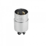 250V Standard Plug, 3P4W Self Grounding, Armored Steel