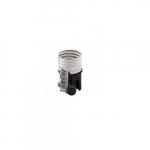 250W Lamp Holder Interior, Medium Base, Phenolic, Turn Knob