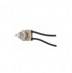 Single-Pole Canopy Switch, Push Button, Nickel