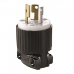 125V Locking Device Plugs, Commercial Grade, 2P3W