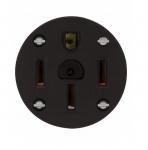 50 Amp NEMA 14-50R 125V-250V Panel Mount Power Receptacle