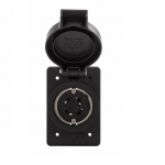 NEMA 6-15R 125V Watertight Single Receptacle