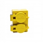 NEMA 6-15R 125V Watertight Duplex Receptacle