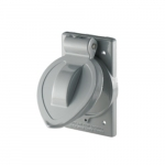 Standard Weatherproof Diecast Aluminum Receptacle Cover for FS/FD Box
