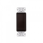 15 Amp Decorator Switch, 3-Way, #14-12 AWG, 120/277V, Rubbed Bronze