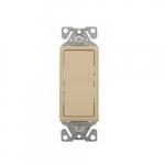 15 Amp Decorator Switch, 3-Way, #14-12 AWG, 120/277V, Ivory
