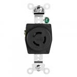 10/15 Amp Non-NEMA 125V/250V Single Locking Power Receptacle