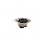 15 Amp Locking Flanged Inlet, 2-Pole, 3-Wire, #16-12 AWG, 125V, Black