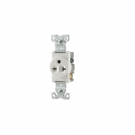 Standard Single Straight Blade Receptacle, Commercial Grade
