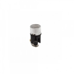 250W Lamp Holder, Medium Base, Aluminum, Turn Knob, 3-Way, IPS Bracket, Brass