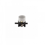 660W Lamp Holder Interior, Medium Base, Phenolic, Push Through Switch