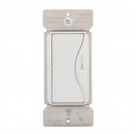 600W Slide Dimmer, Single Pole/3-Way, Alpine White