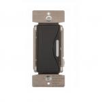 300W Smart Dimmer, Incandescent, LED/CFL, Silver Granite
