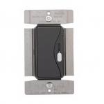 1000W Slide Dimmer, Fluorescent, 277V, Silver Granite