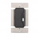 1000W Slide Dimmer, Fluorescent, 120V,  Silver Granite