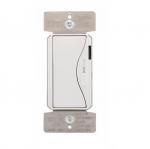 300W LED Dimmer, Single Pole/ 3-Way, Alpine White