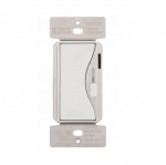 300W LED Dimmer, Single Pole/ 3-Way, White Satin