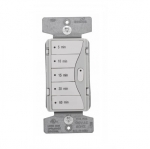 1800W Minute Timer w/ OFF Button, 5-Button, Grey