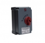 100 Amp Disconnect Switch, Non-Fused, Manual, Grey