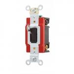 20 Amp Locking Switch, 3-Way, Industrial, Brown