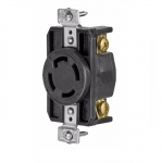 30 Amp Flanged Inlet, 3-Phase, Industrial