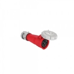 16 Amp Pin and Sleeve Connector, 3-Pole, 4-Wire, 415V, Red