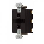 10 Amp Motor Control Switch, Manual, 250/600V, Black