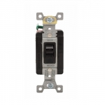 40 Amp Motor Control Switch, Manual, 600V, Black