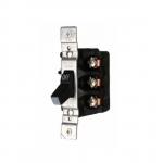 30 Amp Motor Controller, Switch Only, Manual, 600V, Black