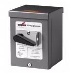 30 Amp Motor Controller, NEMA 3R, Manual, 600V, White